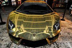 Golden Aventador