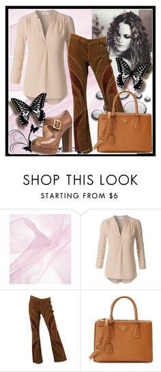 """Show Off My Pants"" by fablygent ❤ liked on Polyvore featuring Prada and Michael Kors"