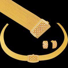 Altın Kaplama Trabzon Hasırı Prenses seti