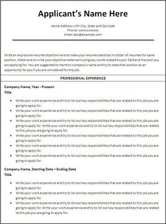Social Worker Resume Template  Wordstemplates    Template