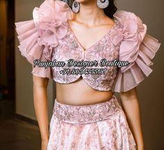 lehenga-choli-design-uk Lehenga Choli Online, Lehenga Blouse, Chandigarh, Rajasthani Lehenga Choli, New Top Design, Heavy Lehenga, Lehenga Wedding, Choli Designs, Hollywood Fashion