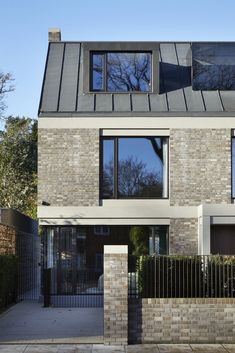 RIBA announces the winners of the 2019 London Regional Award - architektur Perspective Architecture, Brick Architecture, Residential Architecture, Brick Siding, Brick Facade, Facade House, House Facades, Casa Loft, Mews House