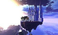 A floating castle of dreams! by Torley, via Flickr