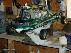 Peter Hutton's Joe 90 Flying Car Joe 90, Airplane Car, Flying Car, Metal Working Tools, Retro Toys, Space Crafts, Retro Futurism, Kids Playing, Stingrays