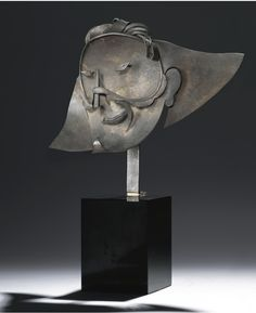 Smiling Harlequin's mask III (Masque d'Arlequin souriant III), 1927