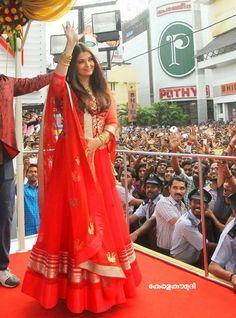 Pink #Aishwariya_Rai #Bollywood #Replica #Anarkali #Salwar_Kameez