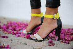Rosegold Zack High Heel Sandal