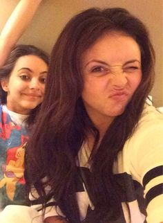 Jade and Jesy are still sooooooooooooooooooo pretty without makeup!!!