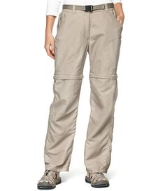 Women's No Fly Zone Zip-Leg Pants: Fishing Pants, Shorts and Skorts | Free Shipping at L.L.Bean (these are so ugly. Am I actually pinning them?)