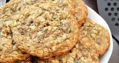 Chewy, hearty and chocked full of oats, chocolate, nuts and coconut, these cookies definitely deserve their award-winning status.