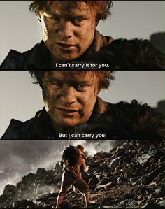 The Lord of the Rings: The Return of the King. Pretty sure everyone was in tears at this part at theater. I still am when I watch it at home.