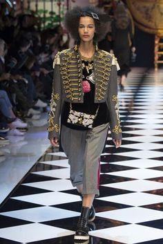Dolce & Gabbana Autumn/Winter 2016 Ready-To-Wear Collection | British Vogue