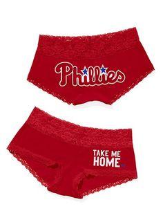 Philadelphia Phillies Perfect Pink Boyshort