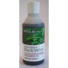 Black Velvet Shampooing de Hilton Herbs