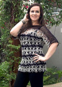 Hairpin lace crochê de grampo www.youtube.com/watch?v=6H_hg8WCqkw