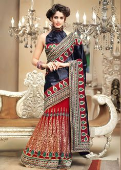 Latest Indian Bridal Saree 2013 l Party Wear Indian Saree Collection 2013 For Womens Indian Bridal Party, Indian Bridal Sarees, Wedding Silk Saree, Best Designer Sarees, Banarasi Sarees, Lehanga Saree, Red Lehenga, Sari, Lahenga