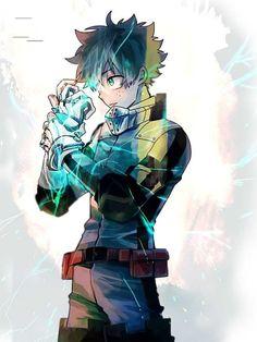 My hero academia // bnha // izuku midoriya / deku / quirk one for Hero Academia Characters, My Hero Academia Manga, Buko No Hero Academia, Anime Characters, Fictional Characters, Roman C, Deku Boku No Hero, Hero Wallpaper, Online Manga