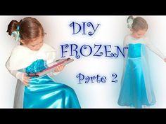 Cómo hacer un disfraz Elsa de Frozen!! https://youtu.be/yvzaghVCrCw