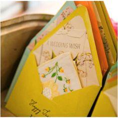 Happy Tear Handkerchief Envelopes