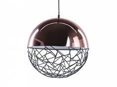 Lampa miedziana - sufitowa - żyrandol - lampa wisząca - PADMA_673705