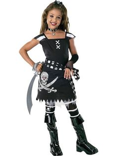 scar let pirate scary girl costumespirate halloween