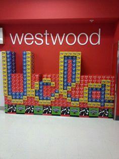 Soda display at Westwood Target store :)