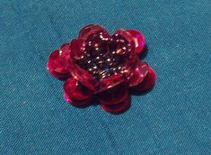 No Matter Where I go...I ALWAYS Meet Myself There!: Sequin Flowers how to