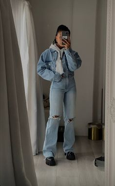 Tomboy Fashion, Teen Fashion Outfits, Edgy Outfits, Mode Outfits, Retro Outfits, Cute Casual Outfits, Look Fashion, Streetwear Fashion, Girl Outfits