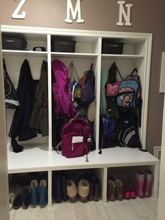 BESTÅ hack – Large Mudroom Lockers with Bench | IKEA Hackers » Hacks | Bloglovin'