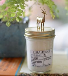 Antelope Lid Dirt Scented Candle