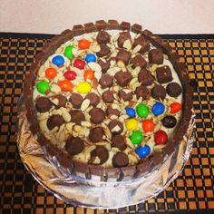 Cake relleno de chocolate