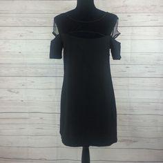 "TOBI little black dress TOBI little black dress Sz M  long from waist 16""  100% polyester Tobi Dresses Midi"
