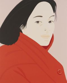 Alex Katz - Brisk Day * 1990 Screenprint in colors on Wove paper Signed in pencil and numbered 36 x 29 inches (91.4 x 73.7 cm) Edition of 150 (+15 AP).