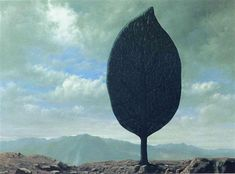 Plain of Air, 1940 by Rene Magritte, Brussels pre-war and war years. Surrealism. symbolic painting