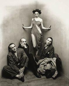 Irving Penn - Ballet Society, New York 1948