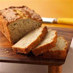 Easy Banana Bread Recipe -I watch several youngsters each day while their parents are at work. They come running when I announce it's time to cook. This bread is one of their favorite treats to help bake and eat. —Sharon Ward, King Ferry, New York