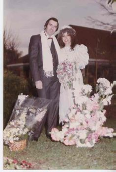 80s wedding dress