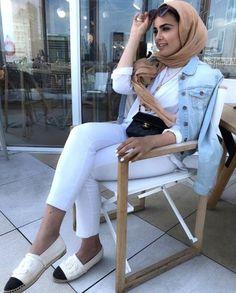 Beautiful hijab trends 2019 – Just Trendy Girls Hijab Casual, Hijab Chic, Hijab Outfit, Kimono Fashion, Fashion Outfits, Women's Fashion, Modest Fashion, Fashion Women, Hijab Jeans