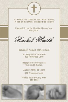 Baptism or Christening Invitation for Boy or by NorthernDesigns, $9.00