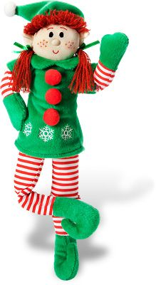 Elf Magic Girl (10-inch, red hair) - Delaney is hoping for one of Santa's magic elves to come to our house.