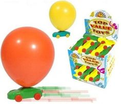Balloon Racer Cars - activity idea, decorate first