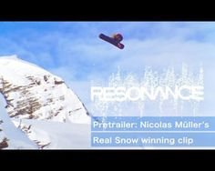 Nico is without doubt one of the most respected riders in the world, not only by pro snowboarders, but the whole scene snowboard. This native of Switzerland began his pro career as one of the most technical riders TTR circuit. He focus today on the freestyle backcountry.