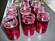 Kuchnia Kachny: Buraczki na zimę Beverages, Drinks, Polish Recipes, Preserves, Pickles, Coca Cola, Raspberry, Cooking Recipes, Canning