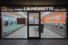 Barbican Launderette | Flickr - Photo Sharing!