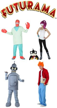 We are the exclusive retailer of officially licensed Futurama costumes, and new for 2015, we've got a Dr. Zoidberg costume! This would be a great group theme.