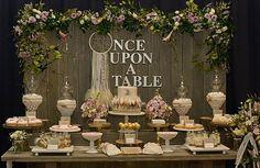 mesa de postres para boda rustica - Buscar con Google