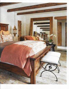 Spanish style homes – Mediterranean Home Decor Southwestern Bedroom, Southwest Style, Spanish Bedroom, Spanish Style Bedrooms, Spanish Style Homes, Spanish Revival, Spanish Colonial, Mediterranean Home Decor, Home Bedroom