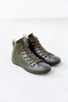 881177da1429 Converse Chuck Taylor All Star Pine Rubber Women s High-Top Sneaker - Urban  Outfitters Vans