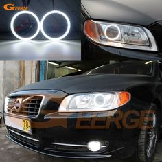 Usd 21 61 Ultra Bright Smd Led Angel Eyes Kit Drl For Volvo S80 Ii 2007 2008 2009 2010 2011 2012 2013 2014 2015 2016 Xenon Headl In 2021 Volvo S80 Volvo Led Angel Eyes
