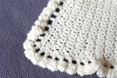 Baby Blanket Crochet Edging Patterns Blankets Throws Ideas